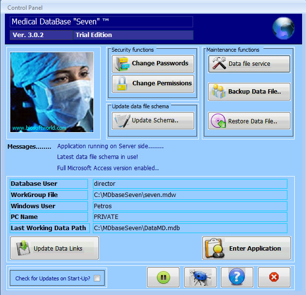microsoft access medical database