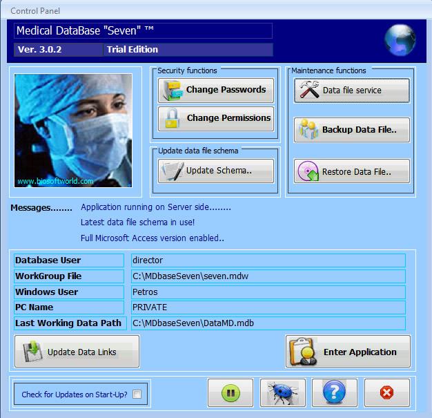microsoft access medical database